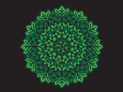 Hop Kaleidoscope / Mandala hops