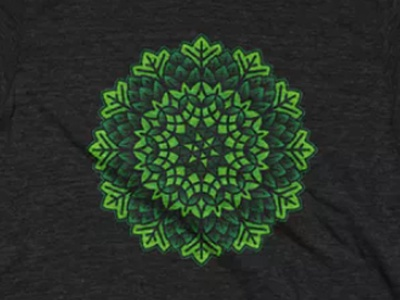 Hop Kaleidoscope Cotton Bureau hops beer design tshirt