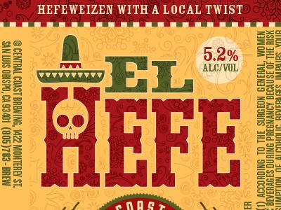 El Hefe - Central Coast Brewing Company beer packaging 22oz