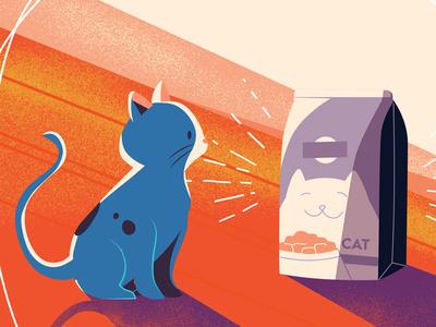 Cat & Food