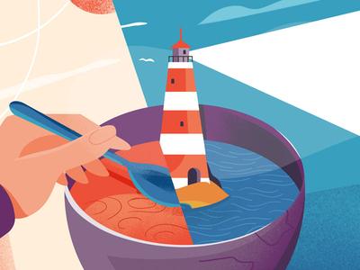 Soup Lighthouse