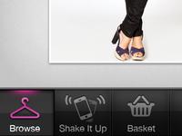 Shopping App Tabbar
