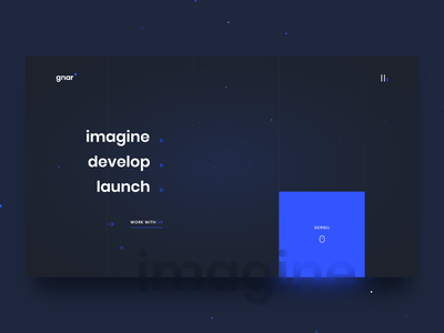 Agency  / Home / circle geometric rectangular square minimal dark blue clean agency home website galaxy space