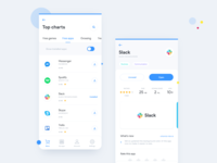 Google Play Store / Redesign