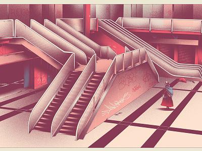 En casa texture biennale digital art design vector illustrator illustration