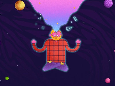 Midnight gospel art motion design styleframe ilustración digital art art illustrator design illustration