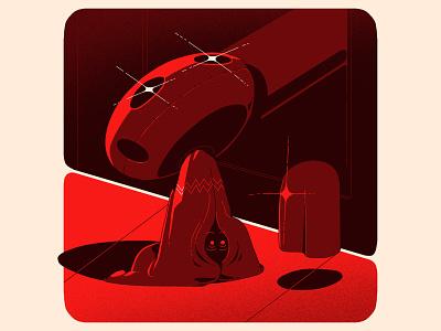 Fear arte digital arte print ilustración art digital art illustrator design illustration