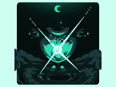 nature wizard vector print motion design ilustración digital art art illustrator design illustration