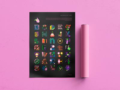 36 Days of Type 2021 poster branding logo design 36days illustration type custom 36daysoftype lettering