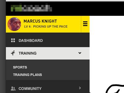 Side Navigation nav navigation menu menus training off canvas
