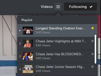 Video Playlist BBSH