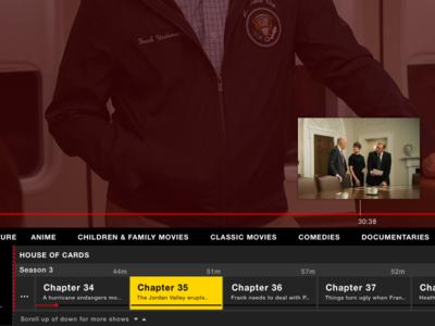 Netflix Live Scrubbing