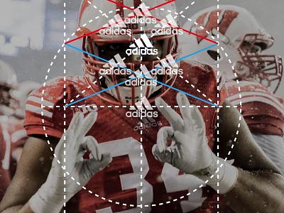 Adidas Digital Transformation art drection graphic design adidas