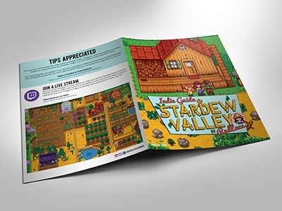 Guidebook for Stardew Valley by Lacey Johnston on Dribbble
