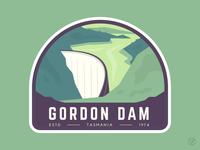 Tasmania Patch - Gordon Dam