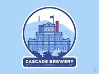 Tasmania Patch - Cascade Brewery