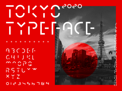 TOKYO(2020) Typeface
