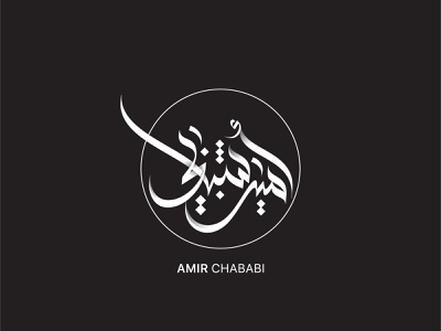 Amir Chababi art brand ux illustrator identity ios minimal lettering type website flat animation web app branding vector ui logo design illustration