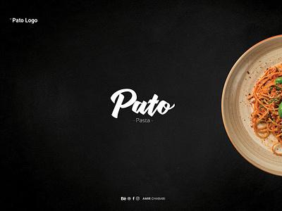 Pato Logo arabic app animation vector ux ui type minimal logo lettering ios illustrator illustration identity flat design branding brand art spaghetti