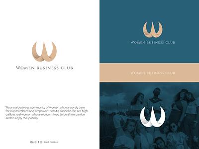 Women Business Club logo and Brand visual identity brandbook web apple c4d visual identity visual design logo design branding logo design logodesign women club typography ux ui logo illustration identity design branding brand