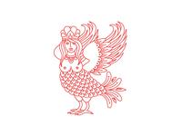Sirin Bird for Artel Troika 404 page