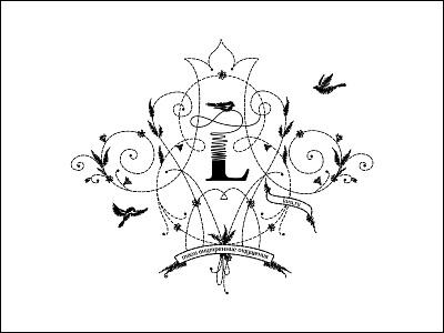 Lara logo provincestudio tomsk russia clothes lara