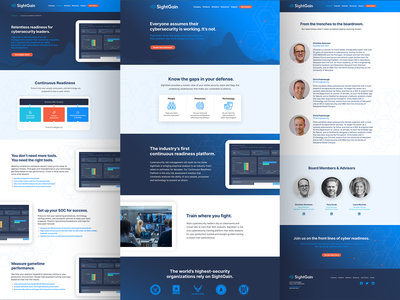 SightGain Rebrand & Website Redesign startup datatribe cybersecurity