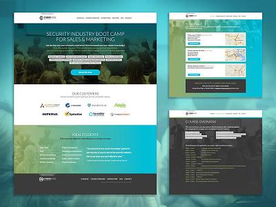 Security Bootcamp Website creative direction branding ux design website