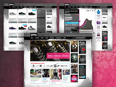 Journeys Website creative direction branding ux design website