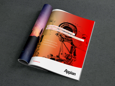 RPA Matrix Ad messaging identity design print marketing advertising branding