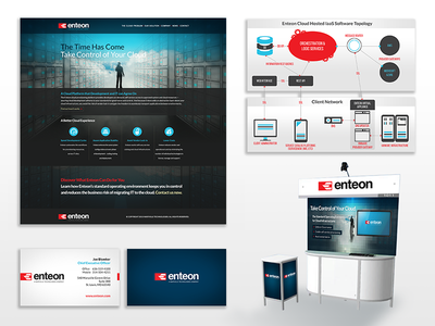 Enteon - Brand on a Budget direct marketing event marketing identity design print marketing advertising branding