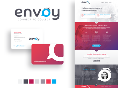 Envoy - Branding, Interactive, and Identity direct marketing event marketing identity design print marketing advertising branding