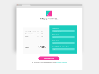 Daily ui 002 - checkout page