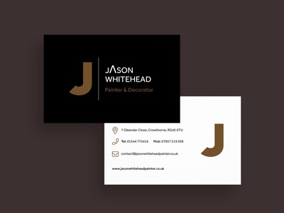 Painter & Decorator Business cards