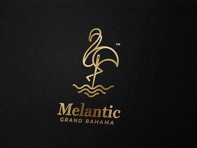 Melantic - Grand Bahama clothing company fashion brand fashion ocean flamingo sea marine smart clothing design logo clothing