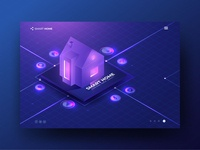 Smart Home Header Concept