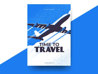 Time to travel flyer template download free plane flying retro flyer vintage poster airplane travel
