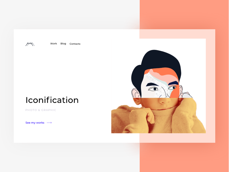 Landing Page iconification colors website ux ui illustration page landing