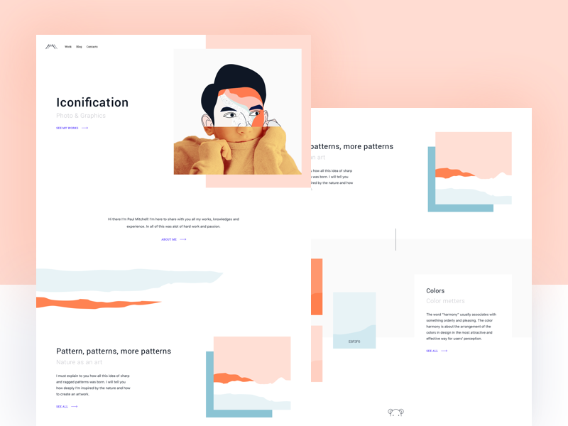 Landing Page by Alexa for Awesomed