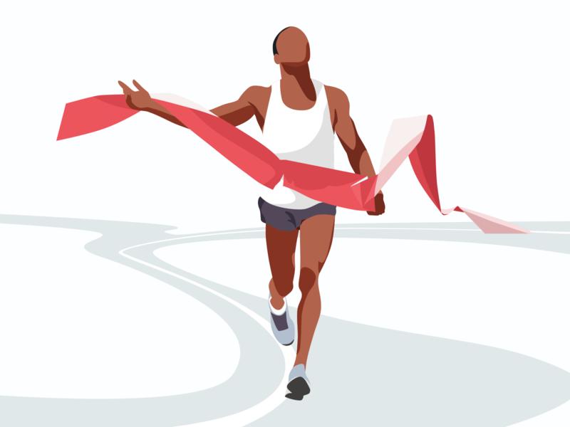 Maraton runner