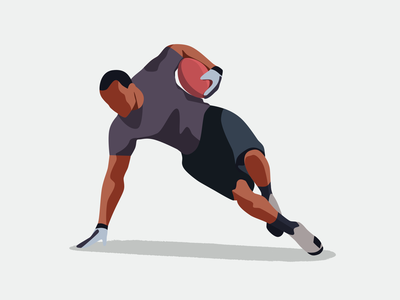 Rugby athlete sport game player character rugby
