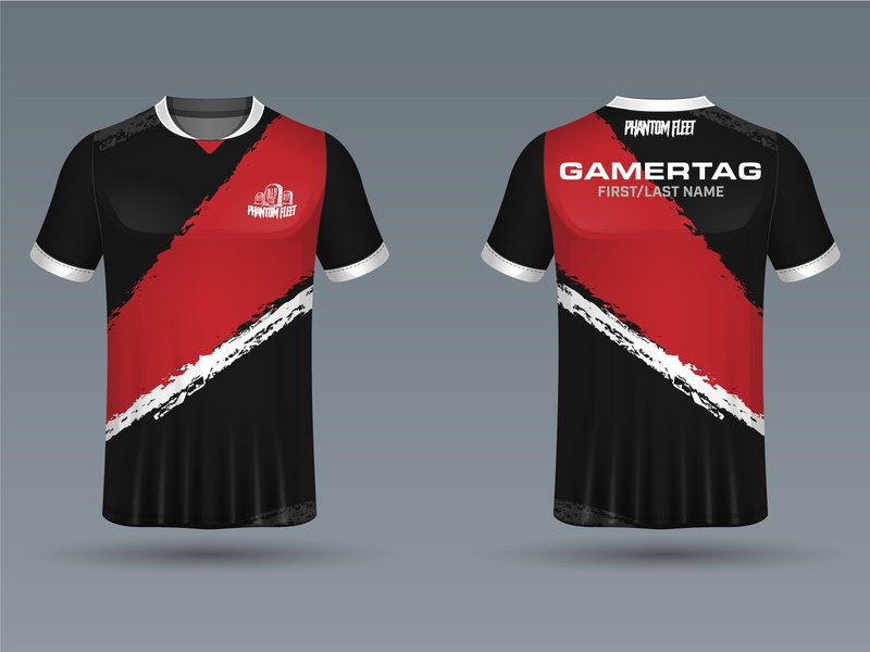 Phantom Fleet Gaming Division 2020 Jersey mixer youtube twitch stream fgc melee ultimate bros smash super ssbu esports gaming game ssb graphic design jersey phantom fleet