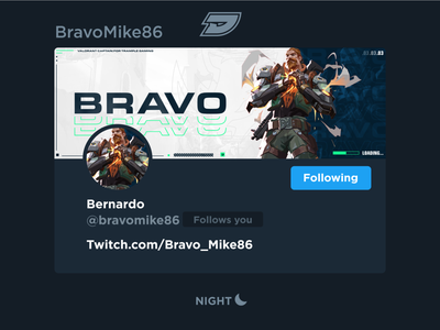 Bravo | Social Media Layout bravo character design fps shooter youtube mixer twitch streaming stream esports gaming game riotgames riot valorant breach graphic layout header