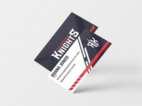 Reborn Knights Business Cards