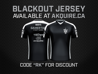 Blackout Jersey Design for Reborn Knights