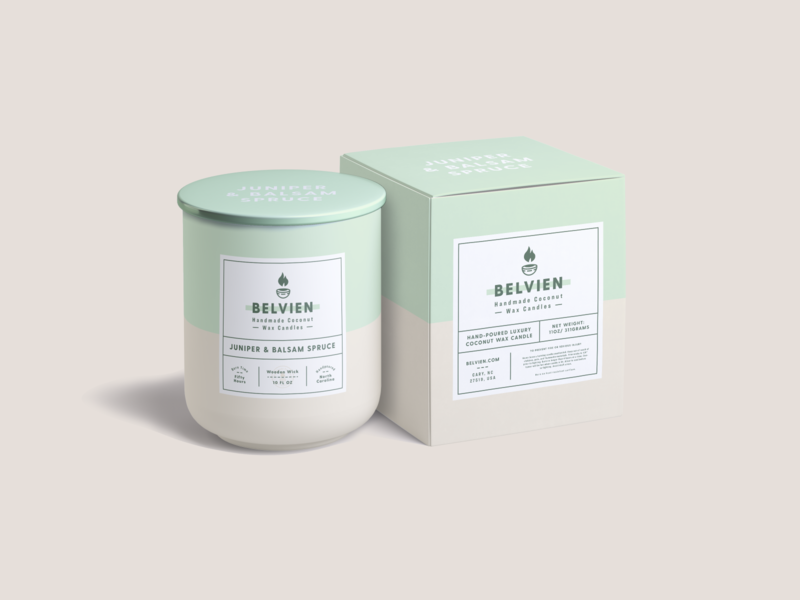 Belvien Candles Packaging #1 candle company candle packaging candle branding candles packaging mockup packaging design packaging minimal modern monoline brand identity brand logo branding