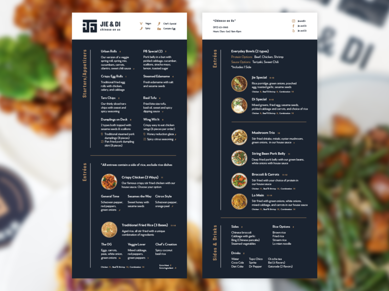 Restaurant Menu modern monoline minimal restaurant design restaurant branding menu design restaurant menu brand logo branding