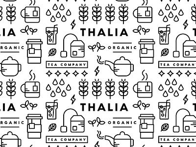 Icon Pattern icon brand identity icon pattern tea icons pattern branding brand