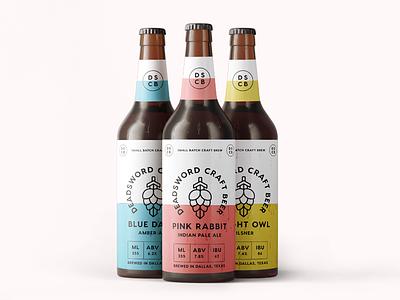 Beer Bottle Mockup mockup beer label beer brand brand branding deadsword label bottle beer