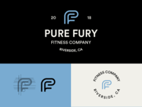 Pure Fury Fitness Logo Option 2